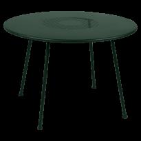 TABLE RONDE LORETTE Ø.110 cm, Cèdre de FERMOB