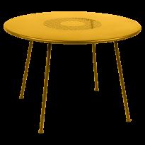 TABLE RONDE LORETTE Ø.110 cm, Miel de FERMOB