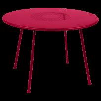 TABLE RONDE LORETTE Ø.110 cm, Rose praline de FERMOB
