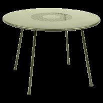 TABLE RONDE LORETTE Ø.110 cm, Tilleul de FERMOB
