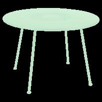 TABLE RONDE LORETTE Ø.110 cm, Vert opaline de FERMOB