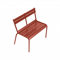 BANC LUXEMBOURG KID, Ocre rouge de FERMOB