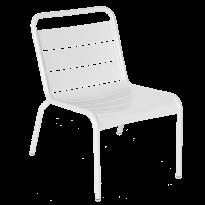 Chaise lounge LUXEMBOURG de Fermob, Blanc coton