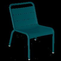 Chaise lounge LUXEMBOURG de Fermob, Bleu acapulco