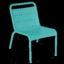 Chaise lounge LUXEMBOURG de Fermob, Bleu lagune