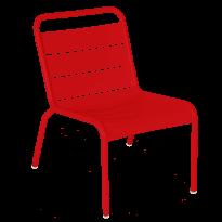 Chaise lounge LUXEMBOURG de Fermob, Coquelicot