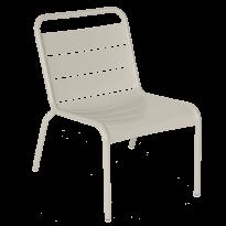 Chaise lounge LUXEMBOURG de Fermob, Gris argile