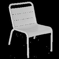 Chaise lounge LUXEMBOURG de Fermob, Gris métal