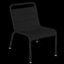 Chaise lounge LUXEMBOURG de Fermob, Réglisse