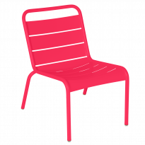 Chaise lounge LUXEMBOURG de Fermob, Rose praline