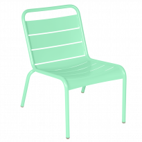 Chaise lounge LUXEMBOURG de Fermob, Vert opaline