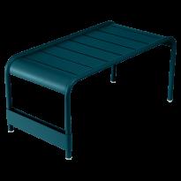 GRANDE TABLE BASSE LUXEMBOURG, Bleu acapulco de FERMOB