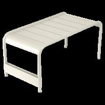 GRANDE TABLE BASSE LUXEMBOURG, Gris argile de FERMOB