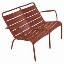 FAUTEUIL BAS DUO LUXEMBOURG, Ocre rouge de FERMOB