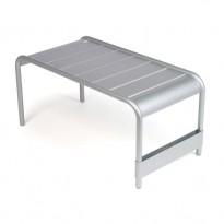 GRANDE TABLE BASSE LUXEMBOURG, Gris métal de FERMOB