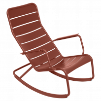 ROCKING CHAIR LUXEMBOURG, Ocre rouge de FERMOB