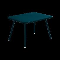 TABLE LUXEMBOURG KID, Bleu acapulco de FERMOB