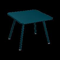 TABLE 57 x 57 LUXEMBOURG KID, Bleu acapulco de FERMOB