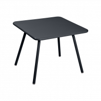 TABLE 57 x 57 LUXEMBOURG KID, Carbone de FERMOB
