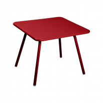 TABLE 57 x 57 LUXEMBOURG KID, Coquelicot de FERMOB