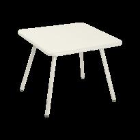 TABLE 57 x 57 LUXEMBOURG KID, Gris argile de FERMOB