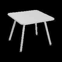 TABLE 57 x 57 LUXEMBOURG KID, Gris métal de FERMOB