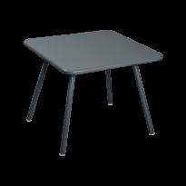 TABLE 57 x 57 LUXEMBOURG KID, Gris orage de FERMOB