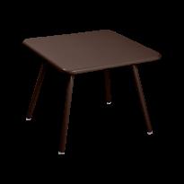 TABLE 57 x 57 LUXEMBOURG KID, Rouille de FERMOB