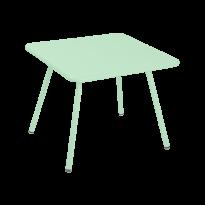 TABLE 57 x 57 LUXEMBOURG KID, Vert opaline de FERMOB