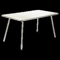 TABLE LUXEMBOURG 143x80 cm, Gris argile de FERMOB