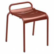 TABOURET LUXEMBOURG, Ocre Rouge de FERMOB