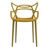 CHAISE MASTERS DE KARTELL, MOUTARDE
