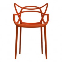 CHAISE MASTERS DE KARTELL, ROUGE ORANGE