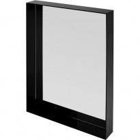MIROIR ONLY ME 70 x 50 cm, Noir brillant de KARTELL