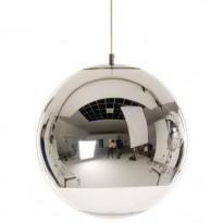 SUSPENSION MIRROR BALL D.40CM DE TOM DIXON, CHROME