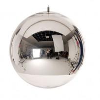 SUSPENSION MIRROR BALL DIAMETRE 50 CM DE TOM DIXON, CHROME