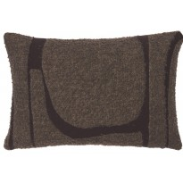COUSSIN MORO ABSTRACT, 60 x 40 cm, Taupe d