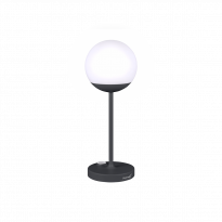 LAMPE MOOON!, 5 couleurs de FERMOB, H.41 cm