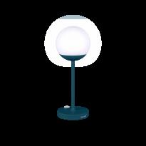 LAMPE MOOON!, Bleu acapulco de FERMOB, H.41 cm