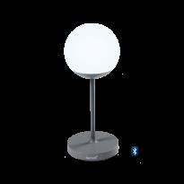 Lampe MOOON! de Fermob, H.63 cm, Gris orage