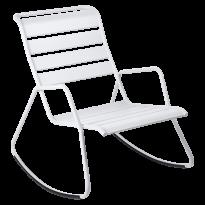 ROCKING CHAIR MONCEAU Blanc Coton, de FERMOB