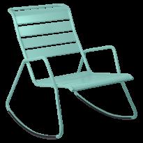 Rocking Chair MONCEAU de Fermob, Bleu lagune