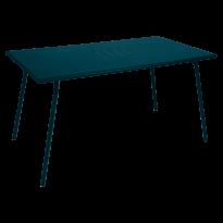 TABLE MONCEAU 146X80X74 BLEU ACAPULCO de FERMOB