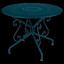 TABLE MONTMARTRE Ø96 CM, Bleu acapulco de FERMOB