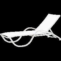 BAIN DE SOLEIL NEPTUNE, Structure Blanc, Batyline Blanc de VLAEMYNCK