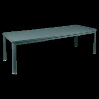 Table 2 allonges OLERON 155/255X100 de Fermob, Gris orage