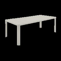 Table OLÉRON de Fermob, Gris argile