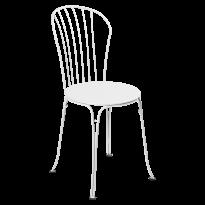 CHAISE OPÉRA +, Blanc coton de FERMOB