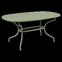 TABLE OVALE OPÉRA + 160x90 CM, 24 couleurs de FERMOB