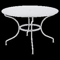 TABLE RONDE OPÉRA +, D. 117, Blanc coton de FERMOB